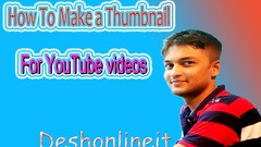 How To Make a Thumbnail For YouTube With Photoshop 7.00|Create a attractive thumbnail 2017 (mdnazmulhaque01717498885) Tags: how to make thumbnail for youtube with photoshop 700|create attractive 2017