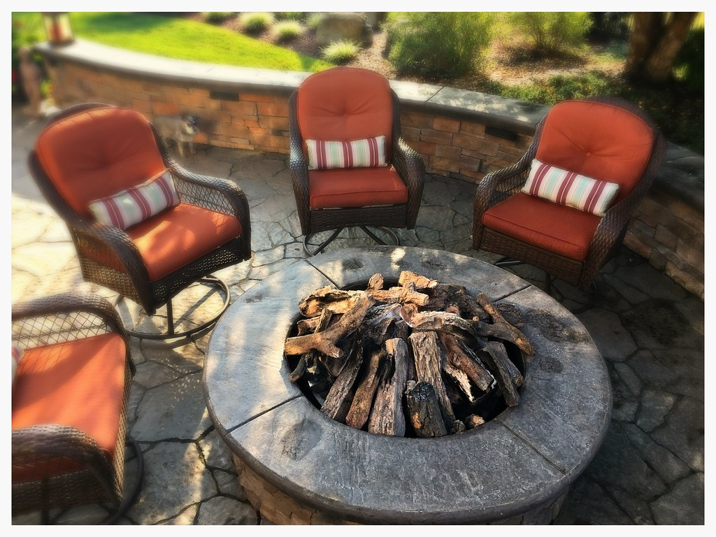 Custom Outdoor Fire Pit. Signal Mtn. Tn.