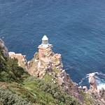 Leuchtturm am Cape Point, Südafrika
