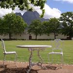 Postkartenidylle in den Winelands, Südafrika
