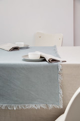 Washed linen by Decopur for your table. (Decopur, Home Textiles) Tags: koner stuido decopur