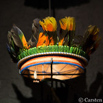 Quito - headdress with feathers thumbnail