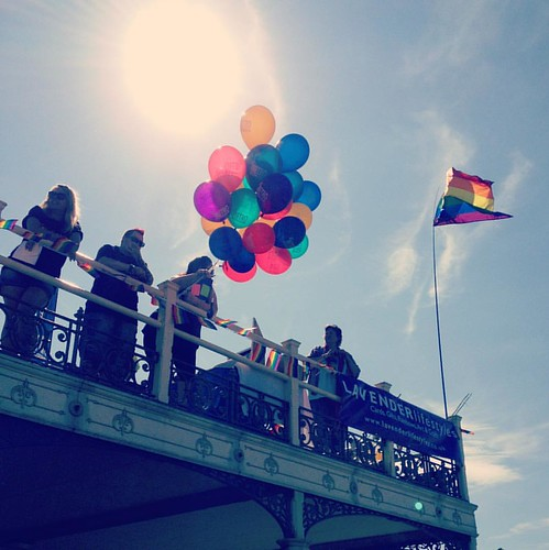 #kentpride #kentpride2015 #Margate 🌈 for more pics visit www.flickr.com/photos/nikkigoldblatt/ or twitter.com/NikkiGoldblatt #equalityforall #lovemargate #love #rainbow #pride2015 #balloons #summer #gay #gayrights