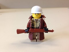 LEGO Custom U.S Battle of the Bulge Infantryman (ranger3181) Tags: world 2 two man infantry soldier us war lego painted battle trenchcoat american ww2 second custom bulge infantryman brickarms brickmania