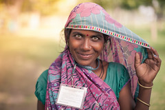 Smile. New Delhi, India (Marji Lang Photography) Tags: travel light portrait people woman india colors beautiful beauty smile face smiling lady outdoors one eyes eyecontact colorful pastel delhi indian beautifullight streetportrait stranger greeneyes hazeleyes worker lovely cleaninglady tones saree sari beautifuleyes encounter newdelhi genuine indianwoman onewoman indianpeople travelportrait outdoorportrait indiancapital greenhazeleyes marjilang marjilangphotography