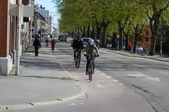 Sykkelfelt Kjpmannsgt. 0156 (Miljpakken) Tags: trondheim rdt sykling bymilj gatemilj miljpakken syklister bygate bytransport bytrafikk miljopakken sykkelveg sykkelanlegg bysykling