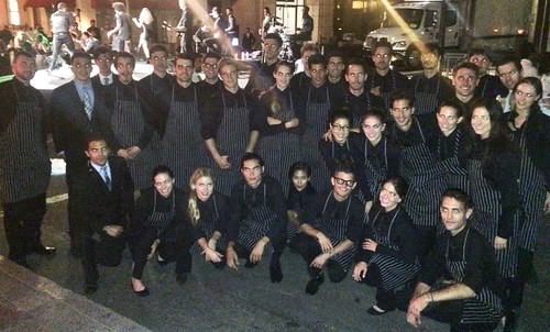 700 Aussies served in a flash @ Paramount Studios.