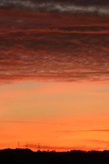 Birley Sunset #004-6 (fishyfish_arcade) Tags: uk greatbritain sunset england nikon sheffield pylon powerlines pylons southyorkshire 55200mm d3200