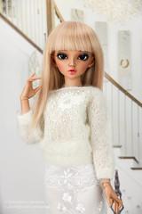 Romantic coctail outfit (AnnaZu) Tags: pink white outfit sale handmade lace tan michelle chloe skirt misha romantic etsy fairyland coctail fs mnf minifee vesnushkahandmade