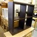 Wenge bookcase unit