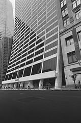 Grace Building (Patrick Copley) Tags: film 35mm kodak modernistarchitecture canonae1p gordonbunshaft architecturalphotography wrgrace gracebuilding trixpan fd24mmf28