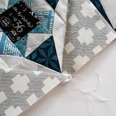 Winterverwirrung (easypatchwork) Tags: winter star mini pillow swap plus ps4s pillowswapfourseasons
