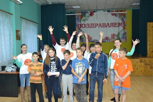 Весёлые старты со студентами ВСГАКИ - осень 2015