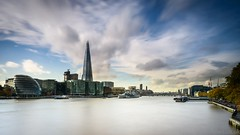 The Shard - Nikon 1 J5 6.7-13mm (Cjlws) Tags: bridge london tower thames nikon long exposure slow 10 system stop filter lee nd shutter grad shard southwark graduated density manfrotto pixi neutral j5 nikon1 06nd seven5 10nd bigstopper 6713mm