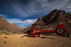 Helicópetero excursión Gran Cañón (Garimba Rekords) Tags: naturaleza nevada grand canyon gran desierto helicóptero cañón eeuu