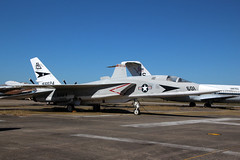 North American RA-5C Vigilante USN 156624/AJ601 (NTG's pictures) Tags: museum florida aircraft aviation united north navy storage national american area states naval usn pensacola vigilante ra5c 156624aj601
