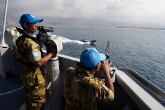 Peacekeeping - UNIFIL UNIFIL Indonesian peacekeepers aboard a Marite Task Force frigate off the coast of Beirut. Lebanon, October 26th 2011. Pasqual Gorriz/ UNIFIL (United Nations Peacekeeping) Tags: lebanon coast october force off peacekeeping frigate beirut indonesian peacekeepers task 26th aboard marite pasqual 2011 unifil gorriz