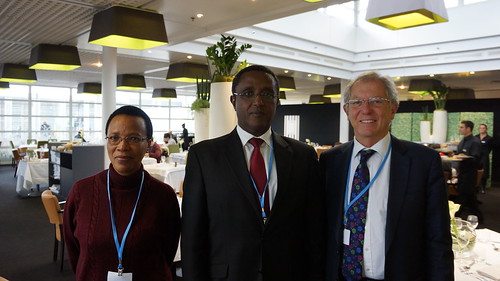 Rwanda's Delegation to Paris Climate Talks