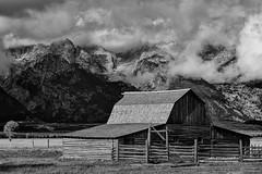 Moulton Barn - The Grand Tetons (Gary B Morrison) Tags: barn flats antelope mormon grandtetons tetons moulton antelopeflats