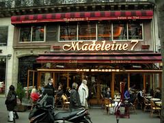 Boulevard de la Madeleine (carolemason) Tags: brasserie boulevarddelamadeleineparis