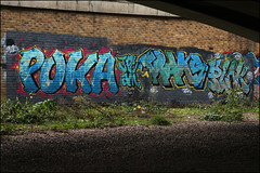Puka / Traks / Plonk (Alex Ellison) Tags: urban graffiti am boobs graff eastlondon traks puka jpt plonk
