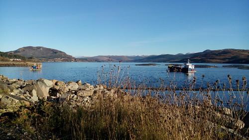 Promenade autour du Loch Long, Écosse