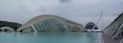 Extravaganza (m_artijn) Tags: panorama cloud valencia architecture modern spain ciudad artes extravaganza ciencias