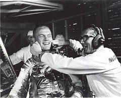 #Guenter Wendt, the original pad leader for NASA's manned space program, coaxes a smile out of astronaut John Glenn after the MA-6 mission was scrubbed, 1962 [2822X2280] #history #retro #vintage #dh #HistoryPorn http://ift.tt/2h27bYD (Histolines) Tags: histolines history timeline retro vinatage guenter wendt original pad leader for nasas manned space program coaxes smile out astronaut john glenn after ma6 mission was scrubbed 1962 2822x2280 vintage dh historyporn httpifttt2h27byd