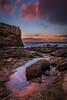Reflecting Tide Pool (EricGail_AdventureInFineArtPhotography) Tags: ericgail adventureinfineartphotography canon 70d sunset sky shore seascape reflection tidepool