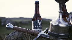 Shooting for Windswept with Red Handed (Jack Watson.) Tags: windswept brewery tiree wave classic beer wind swept ale losimouth tornado