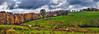 IMG_2091-94Ptzl1scTBbLGEV (ultravivid imaging) Tags: ultravividimaging ultra vivid imaging ultravivid colorful canon canon5dmk2 clouds sunsetclouds stormclouds rural farm fields barn autumn autumncolors horses rainyday