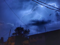 Thunder (Fally Killradio) Tags: sky cielo clouds nubes skyporn skycollection cloudscape cloudsporn cloudscollection landscape storm tormenta thunder thunderstorm rayos view scenery nature night nightcollection noche paisaje lovely amazing photography photo buenosaires argentina