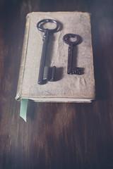 book and keys... (CatMacBride) Tags: book key keys
