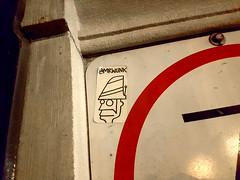 mrwunk (Exile on Ontario St) Tags: sticker stickerart mrwunk slaps slap sign traffic trafic panneau signalisation routière signe affiche pancarte collant autocollant stickers drawing cartoon character comics mister wunk streetart vieuxmontréal oldmontreal vieux montréal old montreal mtlstreetart