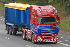 DAF - James S Hislop  P800 JSH (john_mullin Thanks for 12 million views) Tags: scotland scottish british uk truck trucks trucking lorry lorries hgv commercials transport vehicle vehicles goods distribution freight haulage supply delivery logistics broxden perth perthshire