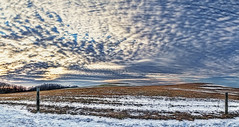 IMG_6963-64Ptzl1scTBbLGLE (ultravivid imaging) Tags: ultravividimaging ultra vivid imaging ultravivid colorful canon canon5dmk2 clouds sunsetclouds fields farm rural scenic snow vista