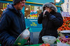 Well Needed Cuppa: Walthamstow Market London (Mike Cook 66) Tags: londone17 highstreet streetmarket nikoncoolpixa walthamstow market cold tea london nikon coolpix a stall holders veg