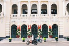 Ho Chi Minh City Hall (eekiem) Tags: ho chi minh city saigon travel vietnam hall olympus om10 film analogue