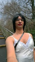WP_20170104_13_41_19_Pro (Katie Savira) Tags: miniskirt secretary sissy leather crossdresser highheels outdoors
