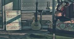 Everything Will Be Wonderful (Someday) (Novaleigh Freng - Taking Clients!) Tags: sl secondlife slink slfashion slipperoriginals blogger blueberry ginger glamaffair heels avatar mesh meshhead lelutka stella cynful physique photography slphotography photoshop new newinsl newrelease newstuff newstuffinsecondlife house shadows light ocean sky redhead inspired indoors meshclothing meshbody meshhair envogue lavie girl woman 3d digital blogging fashionblogger bloggersl blog jeans guitar