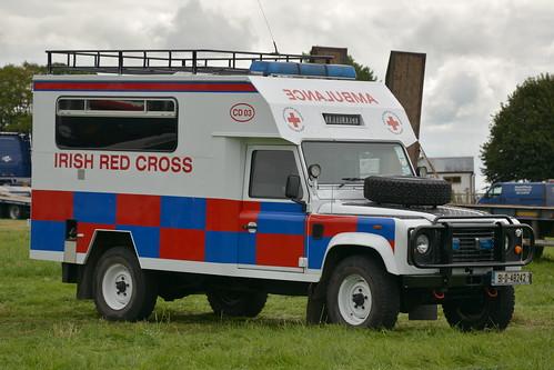 179acc22ef Irish Red Cross 1991 Landrover Defender Locomotors Ambulance 91D48242