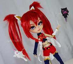 Jinx doll custom pullip (Lydioteision customs) Tags: pullip jinx custom doll artist leagueoflegends league legends