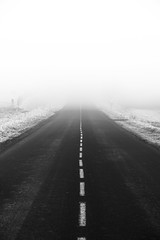 Foggy road (Rookipix) Tags: guillaume lucas rookipix france creative photography d5300 nikon nikkor me my feelings reflections ideas photographie créative moi mes émotions réflexions idées
