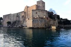 Collioure, Languedoc-Roussillon January 2017 909 (tango-) Tags: castle castello francia collioure
