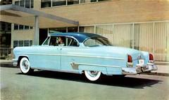 1954 Lincoln Capri Hardtop (aldenjewell) Tags: 1954 lincoln capri hardtop postcard