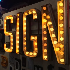 The American Sign Museum (jericl cat) Tags: timeline history letters american sign museum cincinnati ohio 2016 neon signs collection exhibit