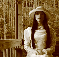 Ready For That Old Time Religion (coollessons2004) Tags: vintage portrait woman beauty beautiful elegant elegance countryside country appalachianmountains appalachian appalachia