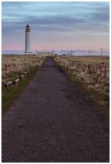 Barns Ness Lighthouse, near Dunbar-2 (Gordon_Farquhar) Tags: dunbar west barns beach lothian ness lighthouse torness power station scotland scottish east coast