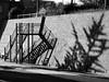 Ingewikkeld (Merodema) Tags: shadows bw zww trap steps schaduw stairs wall tree boom muur complicated ingewikkeld