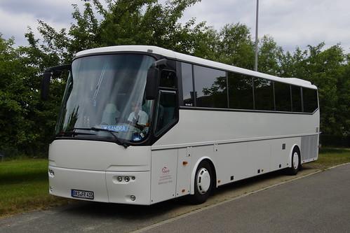 Bova Futura Feuerer Bustouristik mit Kenzeichen BKS-FR 415 in Konz 16-06-2015